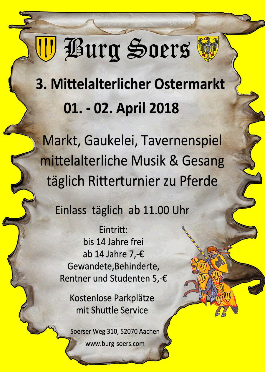 mittelalterlichen Ostermarkt